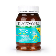 Review Blackmores Odorless Fish Oil Mini 400 S Blackmores
