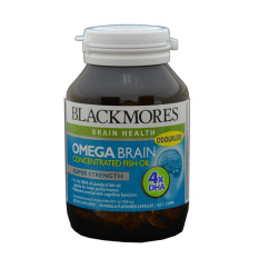 Blackmores Omega Brain 60's (Concentrated Fish Oil - Dha)