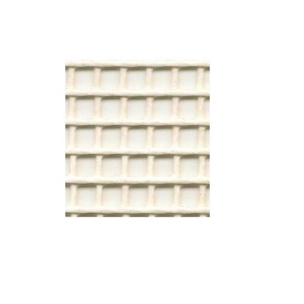 Bloom Multi-Purpose Wire Mesh Opening Rectangular 6mm 2m x 0.5m (White)