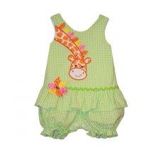 Buy Bonnie Jean Giraffe Coverall Green Bonnie Jean