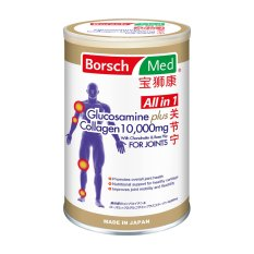 List Price Borsch Med All In 1 Glucosamine Plus Collagen 10000Mg With Chondroitin Rose Hip For Joints Borsch Med