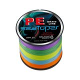 Purchase Braided Fishing Line 500M 8 Strands Super Strong Multifilament Pe Fish Line 50Lb Multicolor