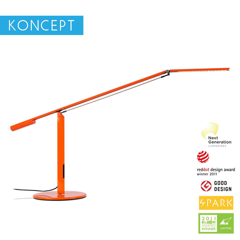 Koncept Equo (ELX-A-W-DSK) Warmlight LED Desk Lamp