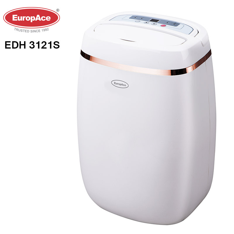 EuropAce 12L Dehumidifier with Air purifier -3 years warranty Singapore