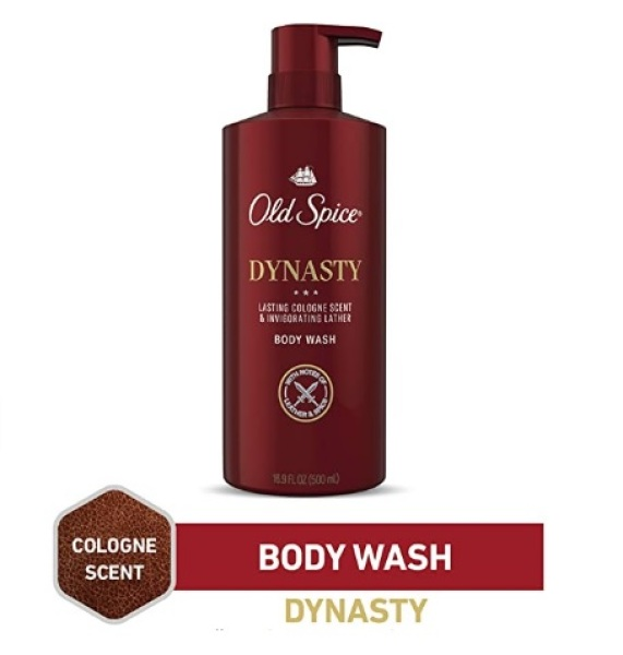 Buy Old Spice Body Wash for Men, Aluminum Free, Dynasty Cologne Scent, 16.9 Fl Ounce (1 bottle) Singapore