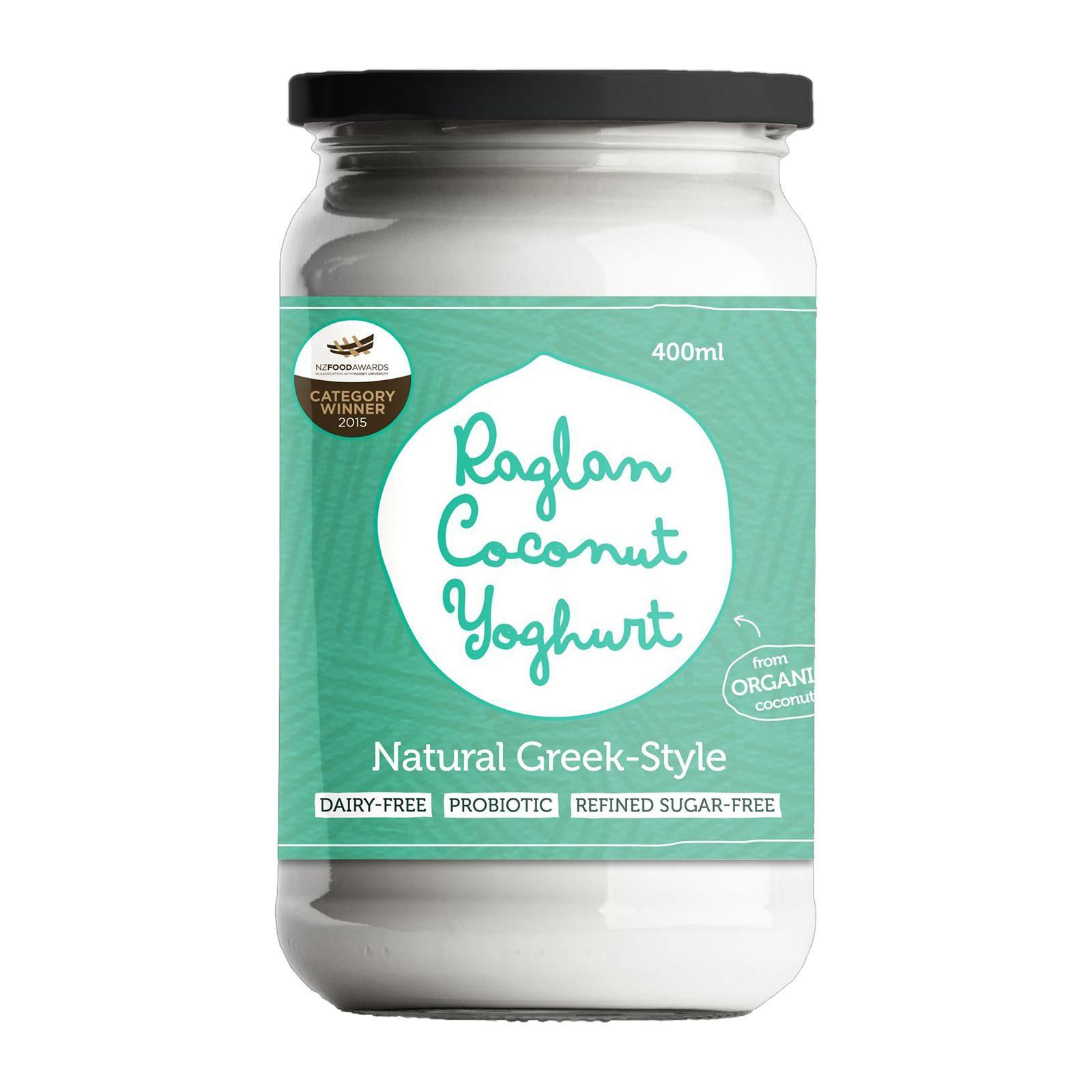 Raglan Coconut Yoghurt Natural Greek Style - 400Ml