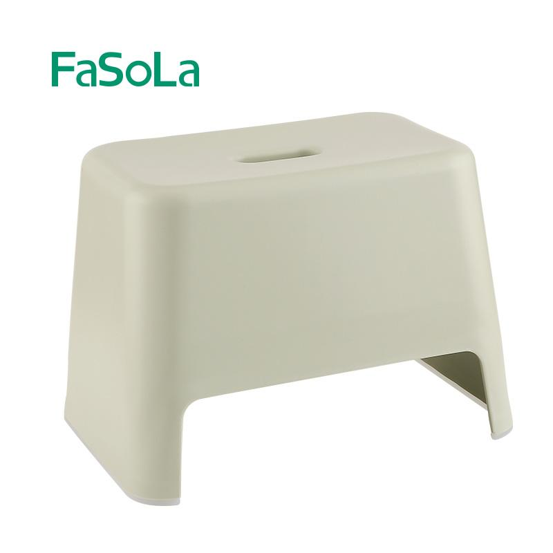 Fasola Plastic Anti-slip Stool Children Stool Footstool Stampede Stool Wash Your Hands Stool Bathroom Anti-slip Stool