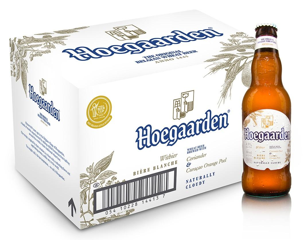 Hoegaarden White Beer (24 X 330ml) By Hoegaarden.