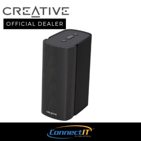 Creative T100 Compact Hi-Fi 2.0 Bluetooth Desktop Speakers for Computers and Laptops. With Remote Control .With 1 Year Local Warranty Singapore