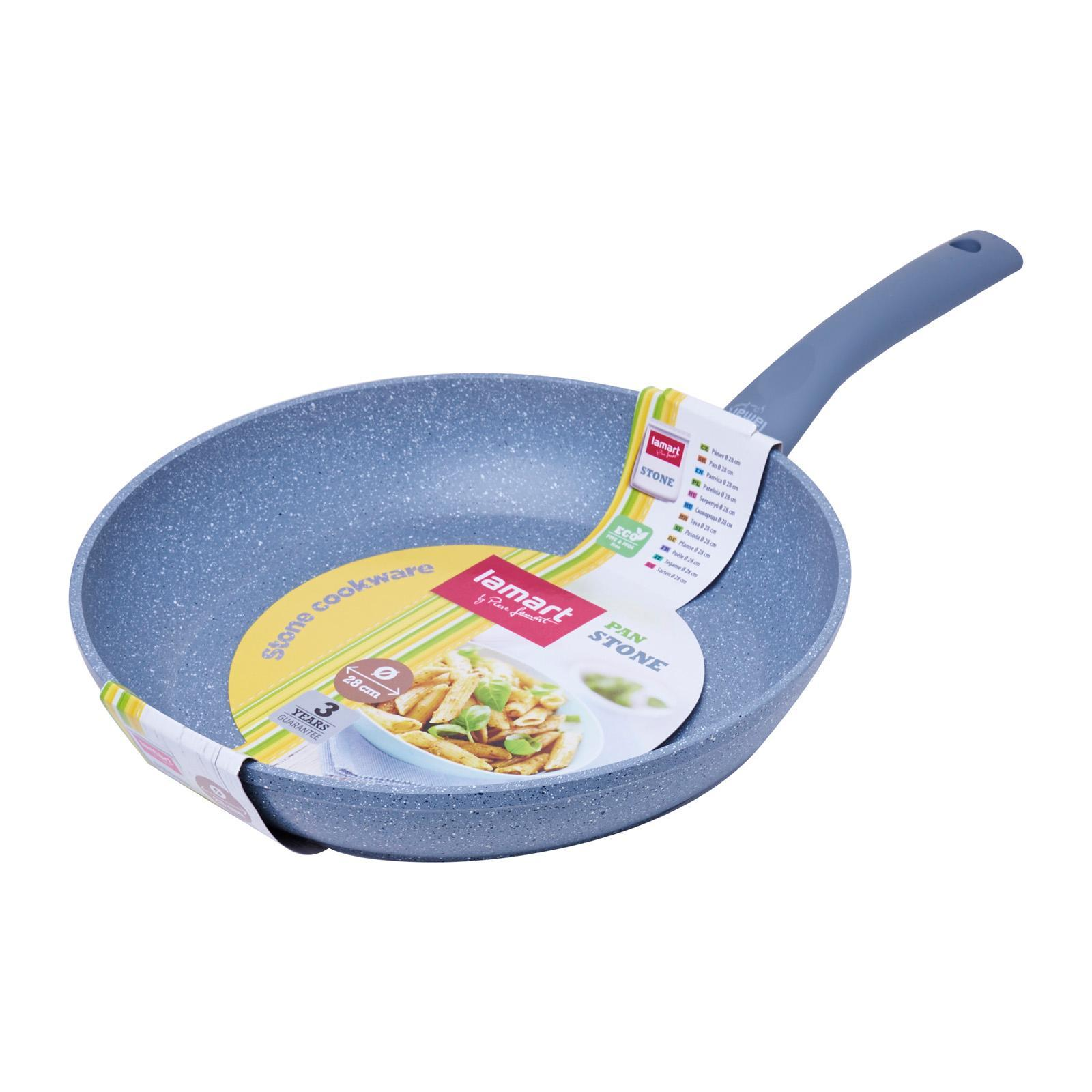 Lamart Induction Ready Marble Stone Fry Pan 28X5.3Cm