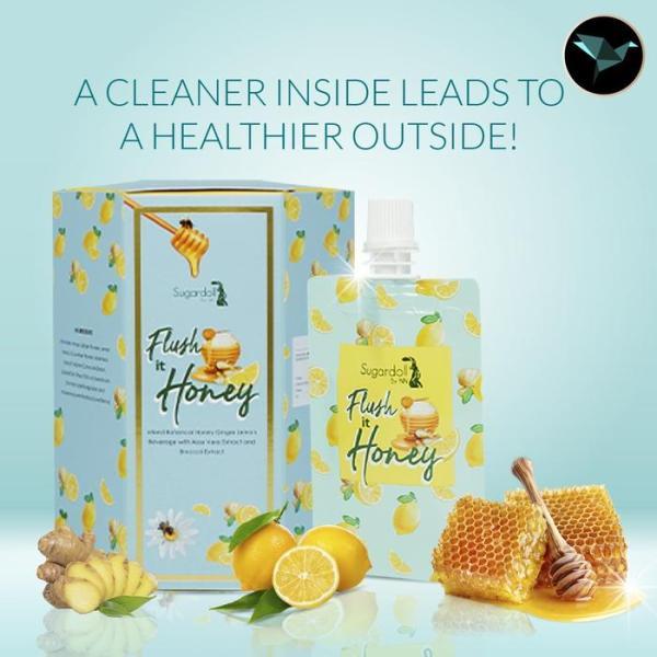 Buy Sugardoll Bodyrange / Flush It Honey / Detox / Weight loss / Slimming / Pregnancy / Breastfeeding Singapore