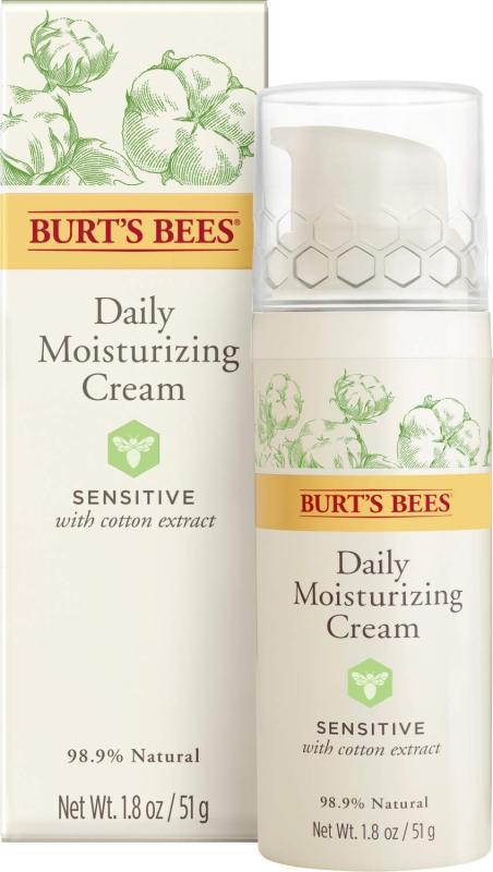 Buy Burts Bees Daily Face Moisturizing Cream, Sensitive, 51g Singapore
