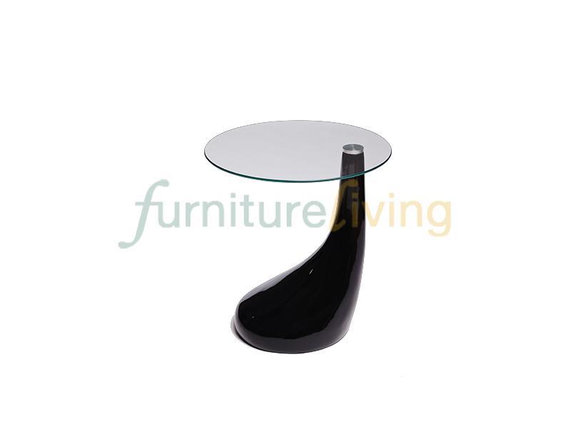 Furniture Living Side Table (Black)