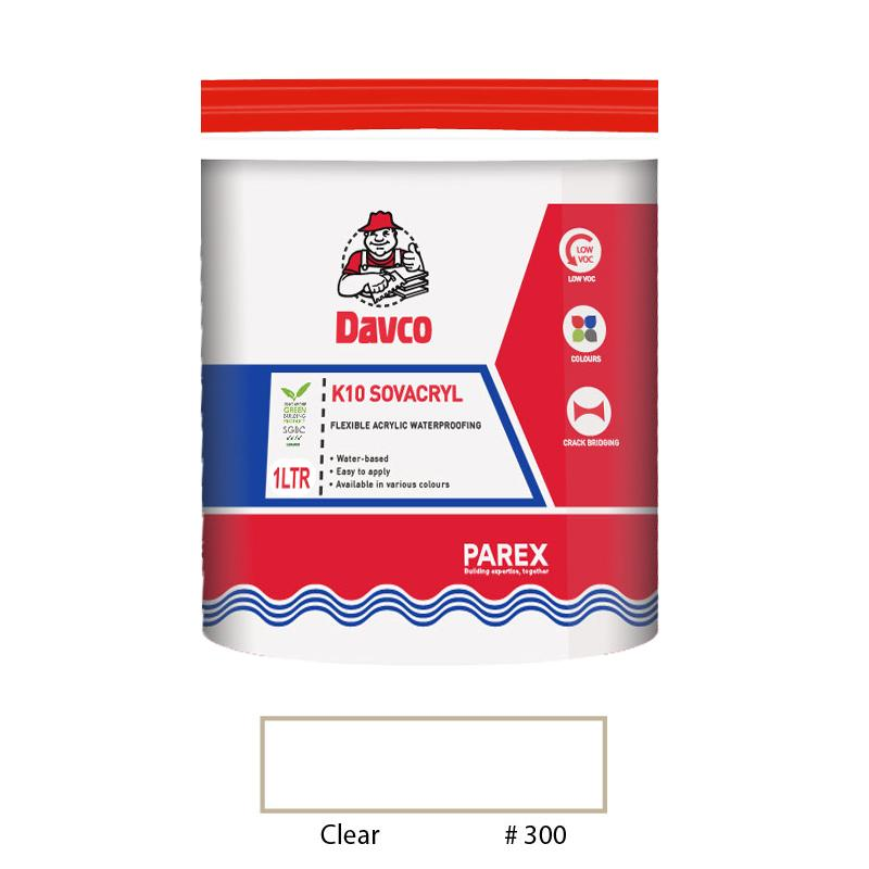Davco K10 Sovacryl 1L (Clear)