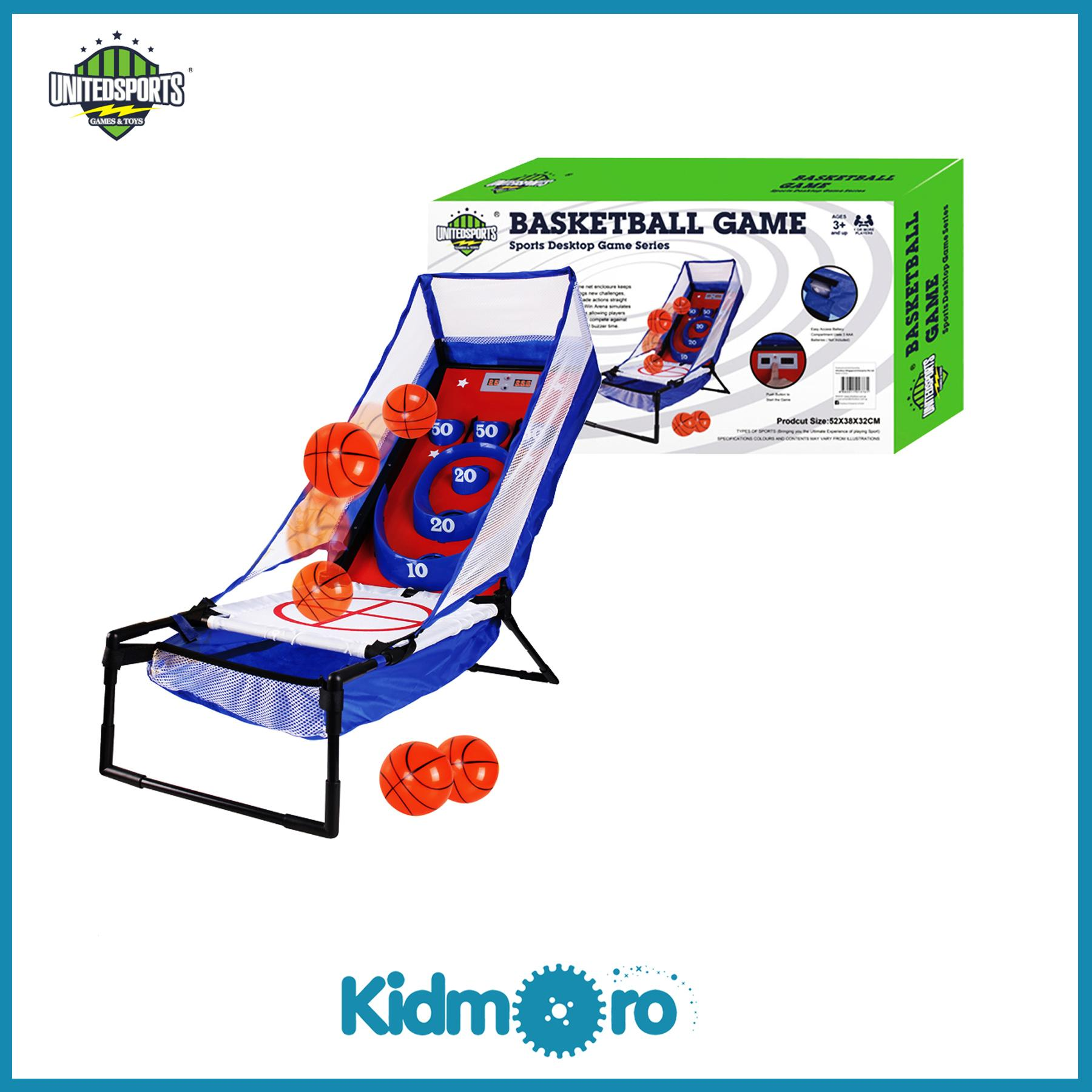 United Sports Electronic Basketball Bounce And Score, Indoor/outdoor Sport Toys Game.