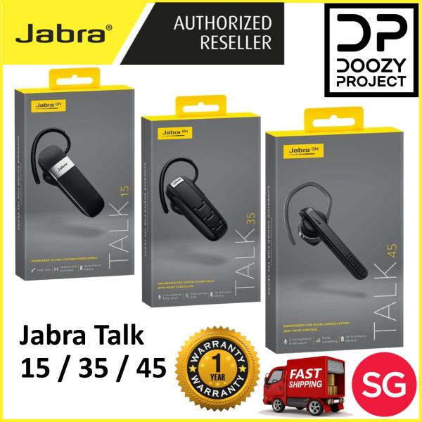 Jabra Talk 15 Talk 35 Talk 45 (1 year Singapore Jabra Warranty) Bluetooth wireless earpiece Singapore