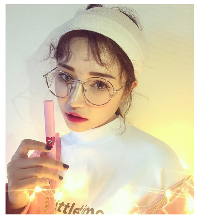 9dd012cb3c4 Korean Style Fashion Vintage Spectacle Frame Metal round Frame Myopia  Golden Plain Glass Vintage women Literature