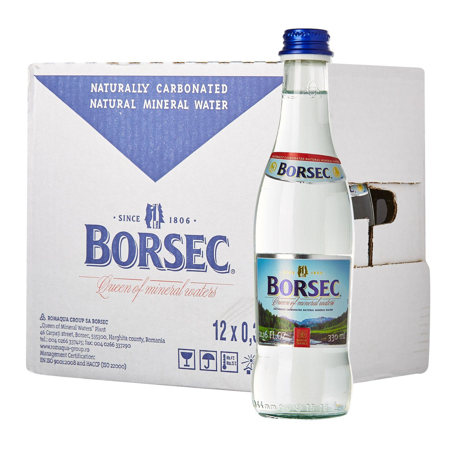 Borsec Naturally Carbonated Natural Mineral Water (sparkling) By Redmart.