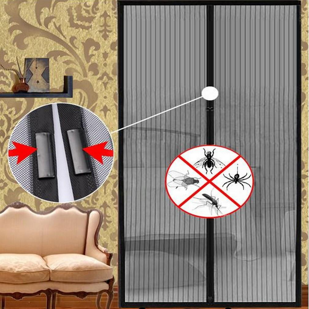 [SG Seller]Mesh Insect Fly Bug Mosquito Door Curtain Net Netting Mesh Screen Magnets