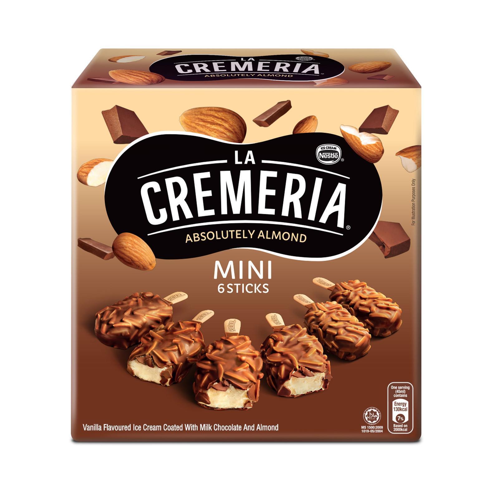 NESTLE LA CREMERIA Mini Almond Vanilla Multipack Ice Cream