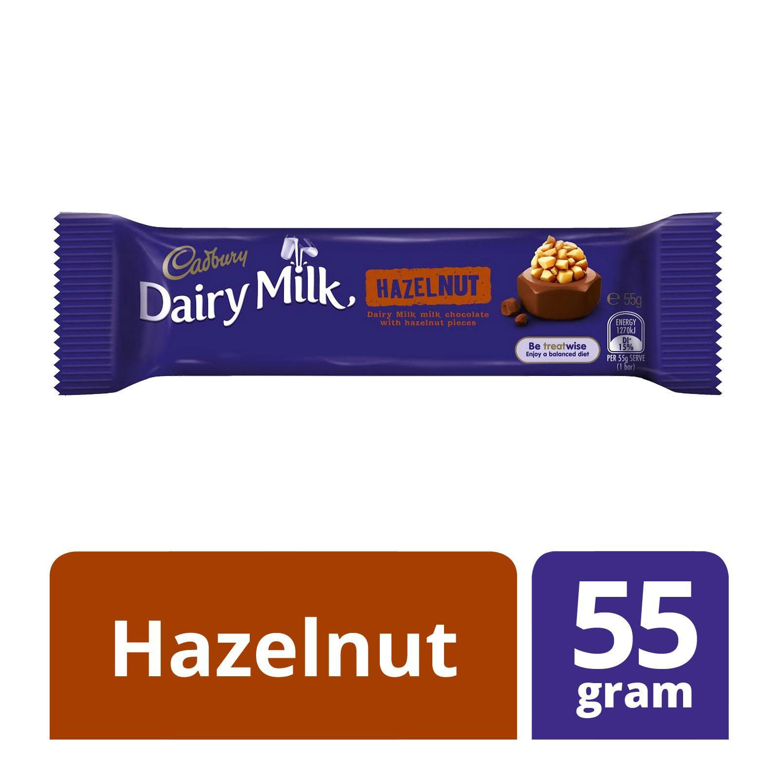 Cadbury Dairy Milk Hazelnut Milk Chocolate Bar