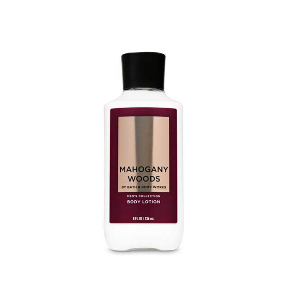 Buy Bath & Body Works : MENS COLLECTION : Mahogany Woods Body Lotion - 236ml - Bath and Bodyworks - BBW Singapore