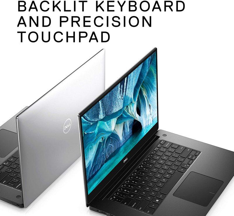 Dell XPS 15 laptop 15.6, 4K UHD InfinityEdge Touch, 9th Gen Intel Core i7-9750H, NVIDIA GeForce GTX 1650 4GB GDDR5, 1TB SSD storage, 16GB RAM
