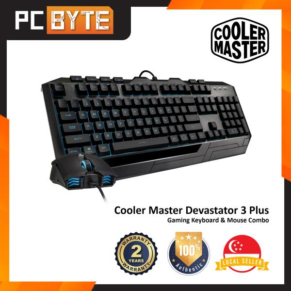 Cooler Master Devastator 3 Plus - Gaming Mem-Chanical Keyboard and Mouse Combo Singapore