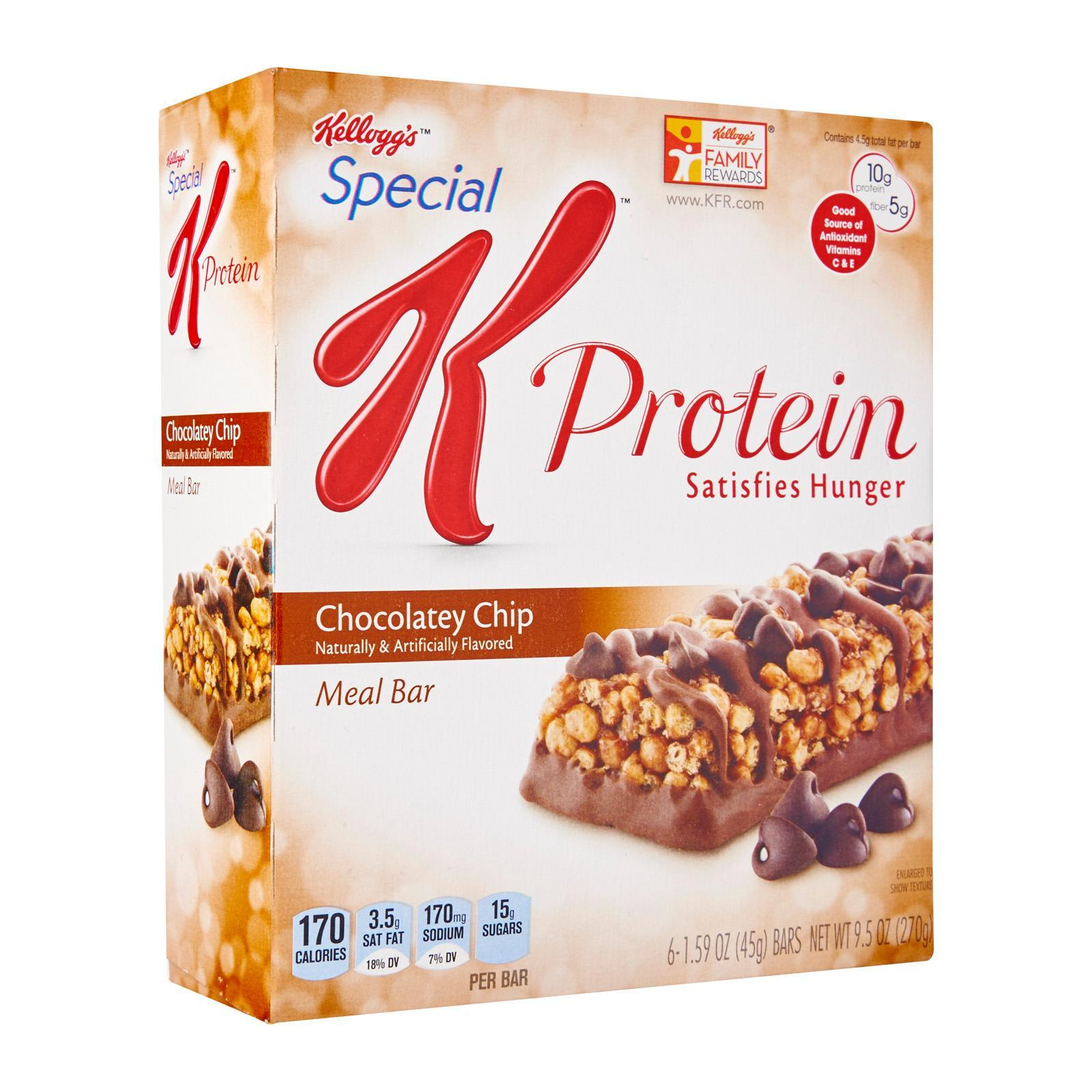 Kellogg's Special K Chocolate Chip Protein Meal Bar