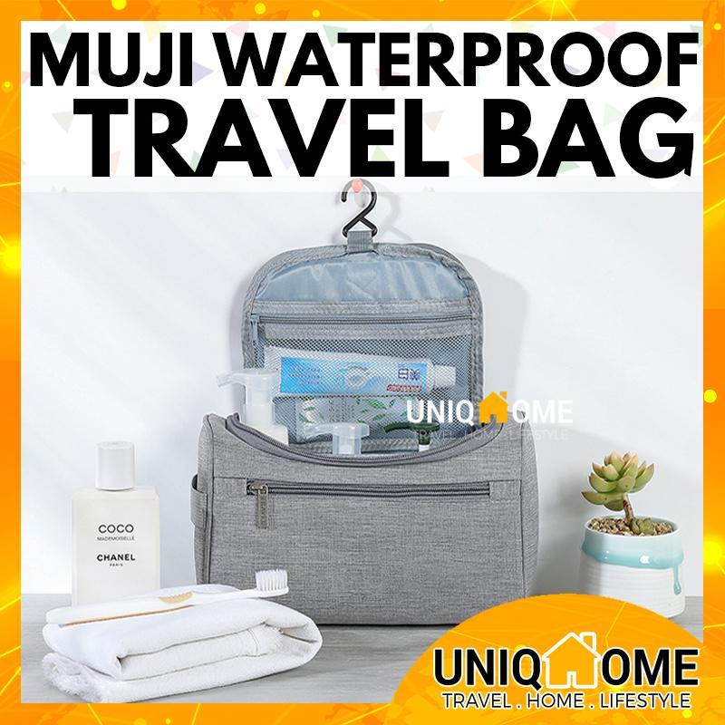 0e6247c98 UniqHome Travel Toiletries Cosmetic Bag Organizer Pouch Luggage Organiser