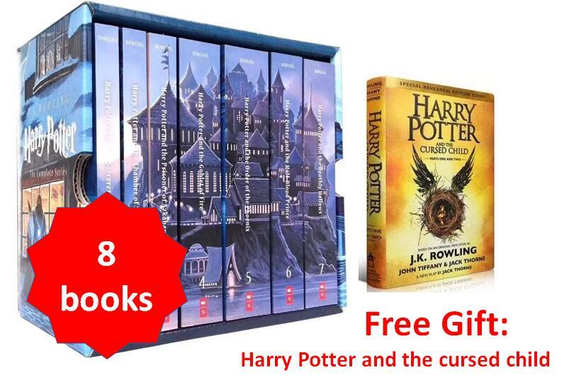 Harry Potter collection US edition (8 books) c2