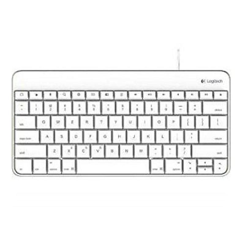 Logitech Wired Keyboard for iPad with Lightning Connector – White Singapore