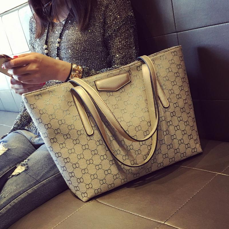 Bag Female 2019 New Style Simple Tote Bag Shoulder Bag Canvas Bag large bag Korean Style Fashion Large Capacity Womens Bag Fashion