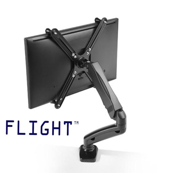Flight Non VESA Adaptor Clamp for LCD Monitor Arm