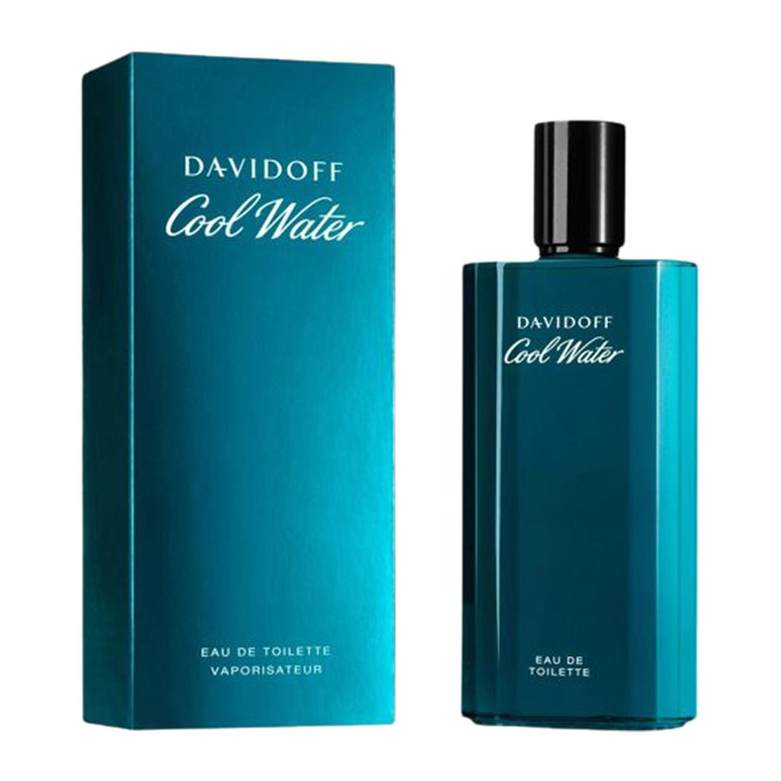 Davidoff Cool Water For Men Eau De Toilette Perfume Fragrance Spray - By BEAULUXLAB
