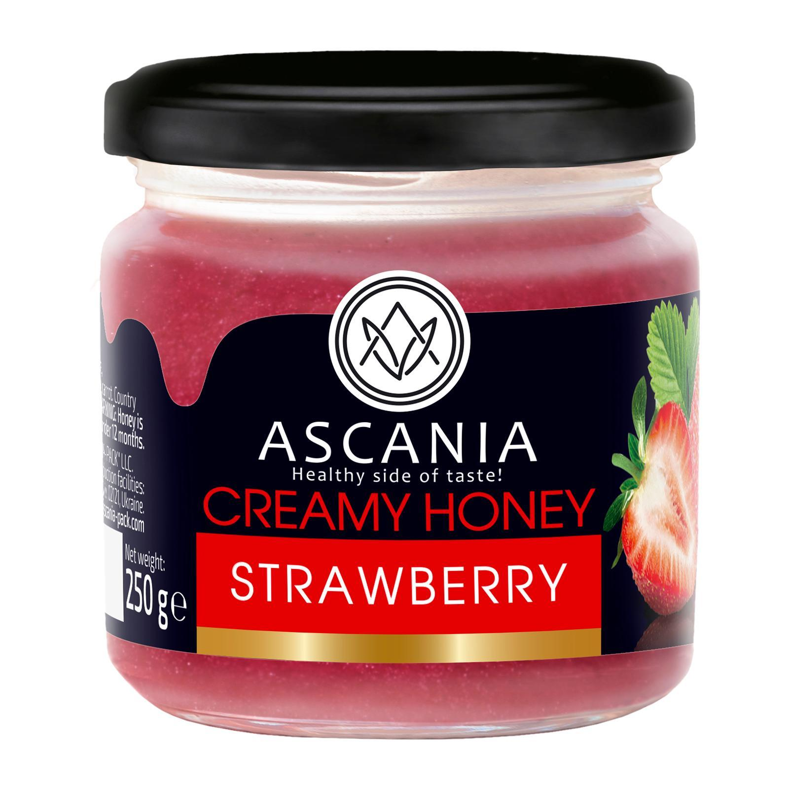 Ascania Creamy Honey With STRAWBERRY