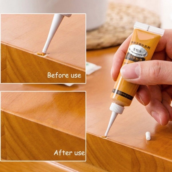 1 pc Wood Furniture Touch Up Kit Marker Cream Wax Scratch Filler Repair Fix