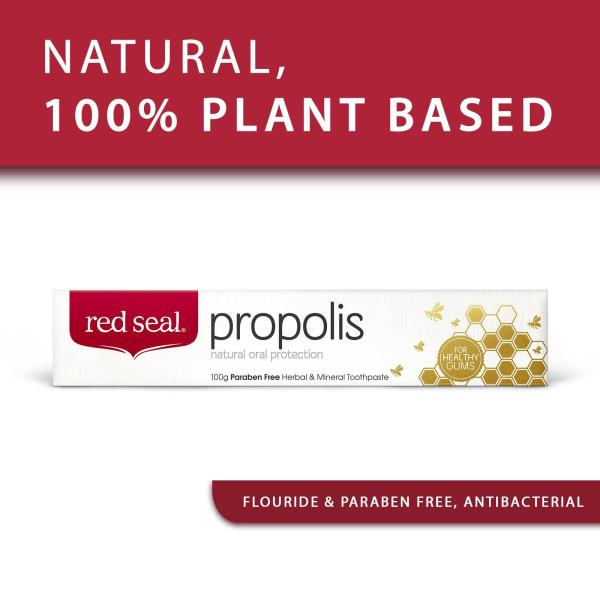 Buy [ Bundle of 2 ] Red Seal Natural Propolis Toothpaste - by Optimo Foods Singapore