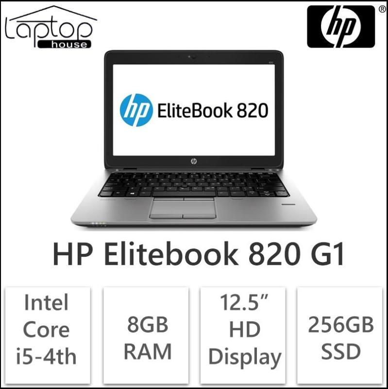 (Refurbished) HP Elitebook 820 G1 (Intel Core i5-4th Gen/ 256GB SSD/ 8GB RAM)