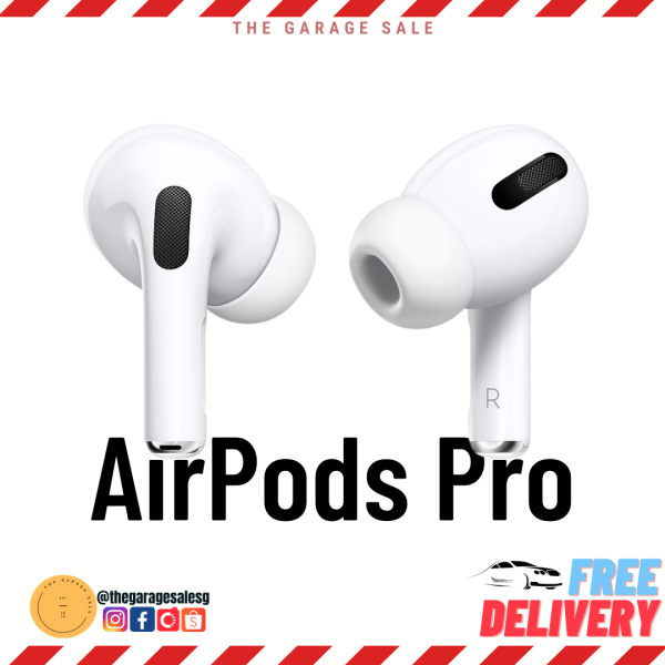 Apple AirPods Pro 1 Year Warranty Singapore