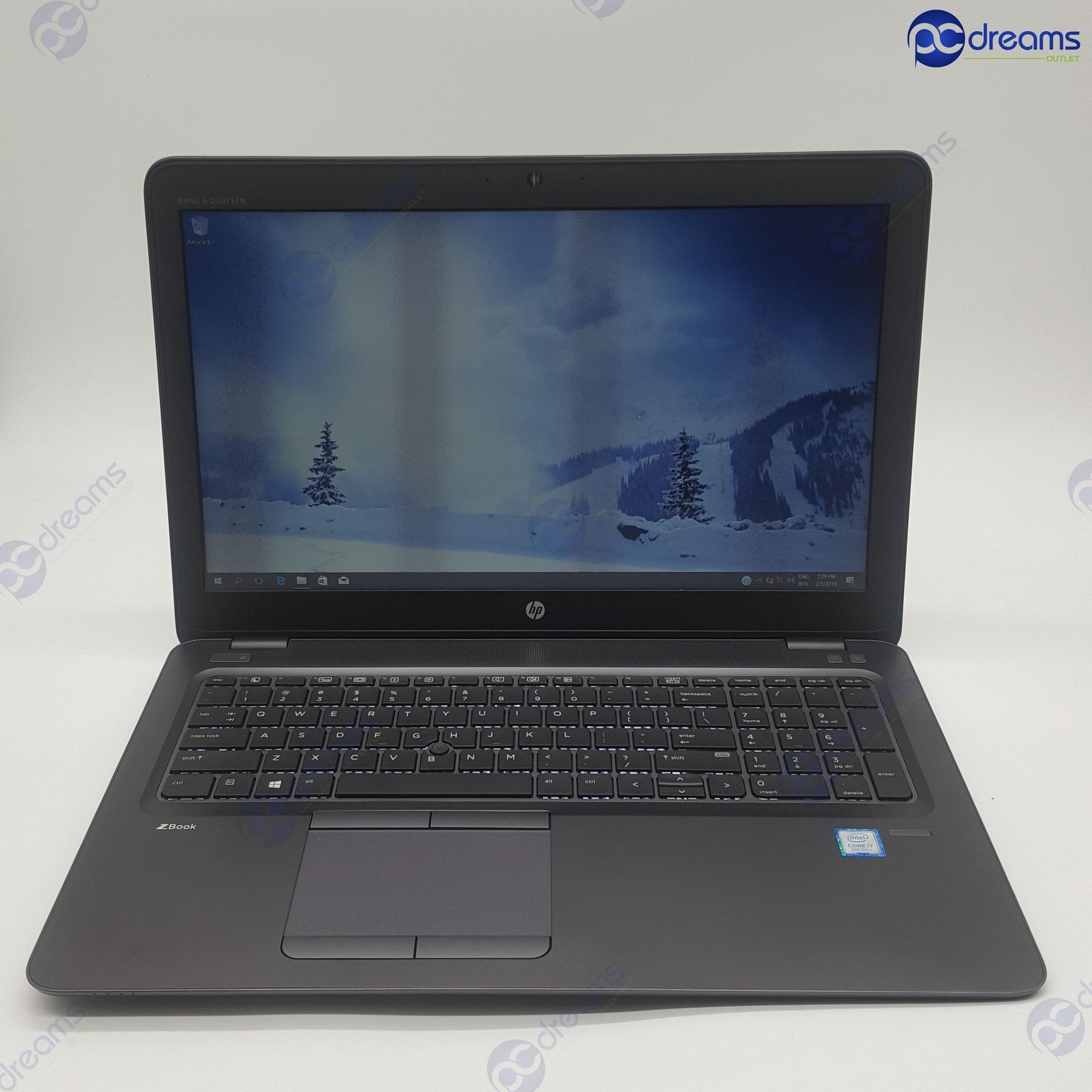 HP ZBOOK 15U G4 (2HU09AV) i7-7600U/16GB/256GB SSD [Premium Refreshed]