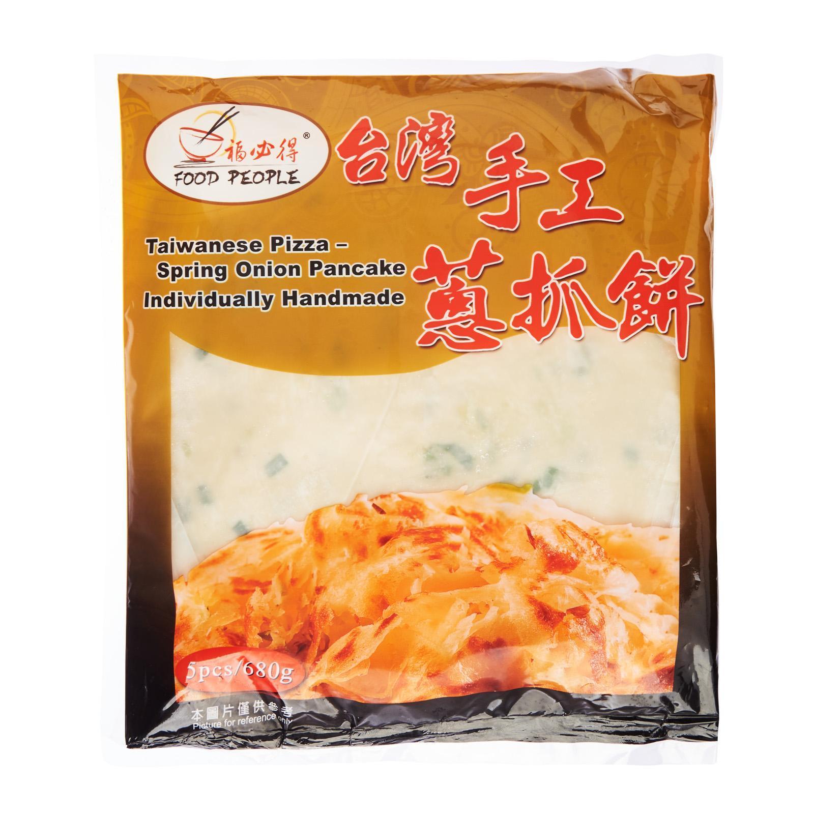 Food People Taiwan Handmade Spring Onion Scallion Pancake - By Food People - Frozen