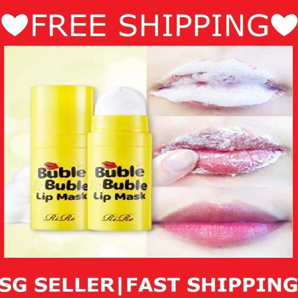 Buy [SG Seller+FREE Shipping]RiRe Buble Buble Lip Mask 12ml Remove Dead Skin Bubble Scrub For Lips Singapore