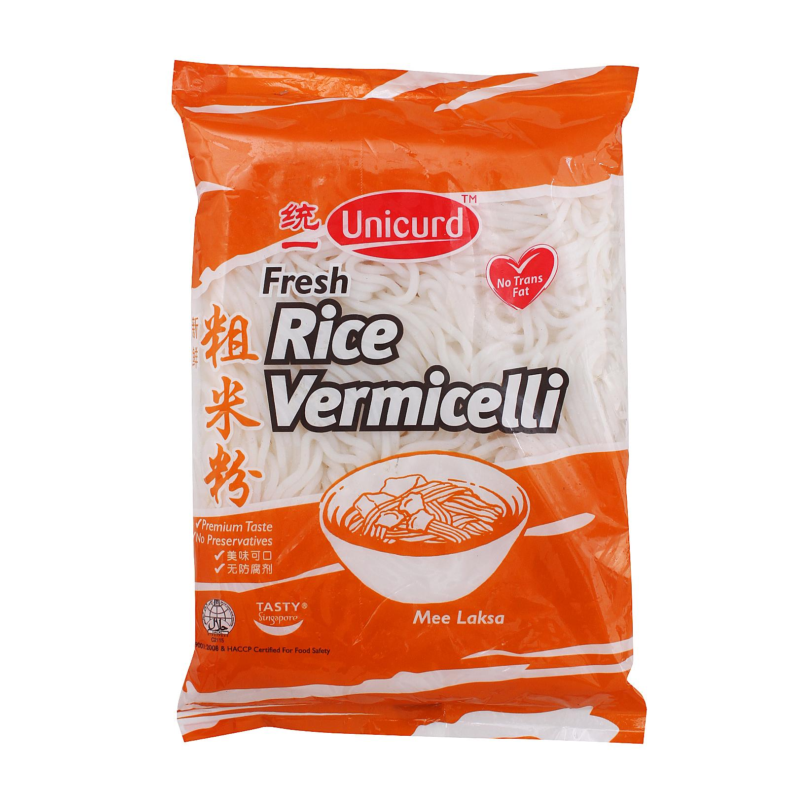 Unicurd Fresh Rice Vermicelli By Redmart.