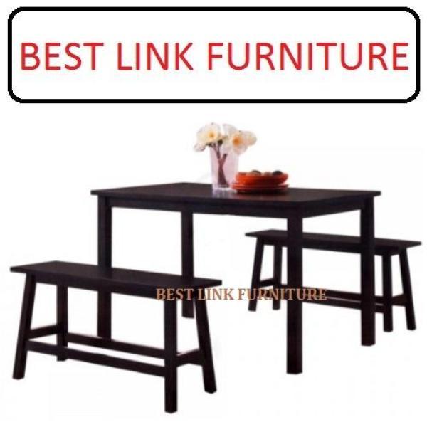 BEST LINK FURNITURE BLF (1 + 2B) Wooden Dining Set