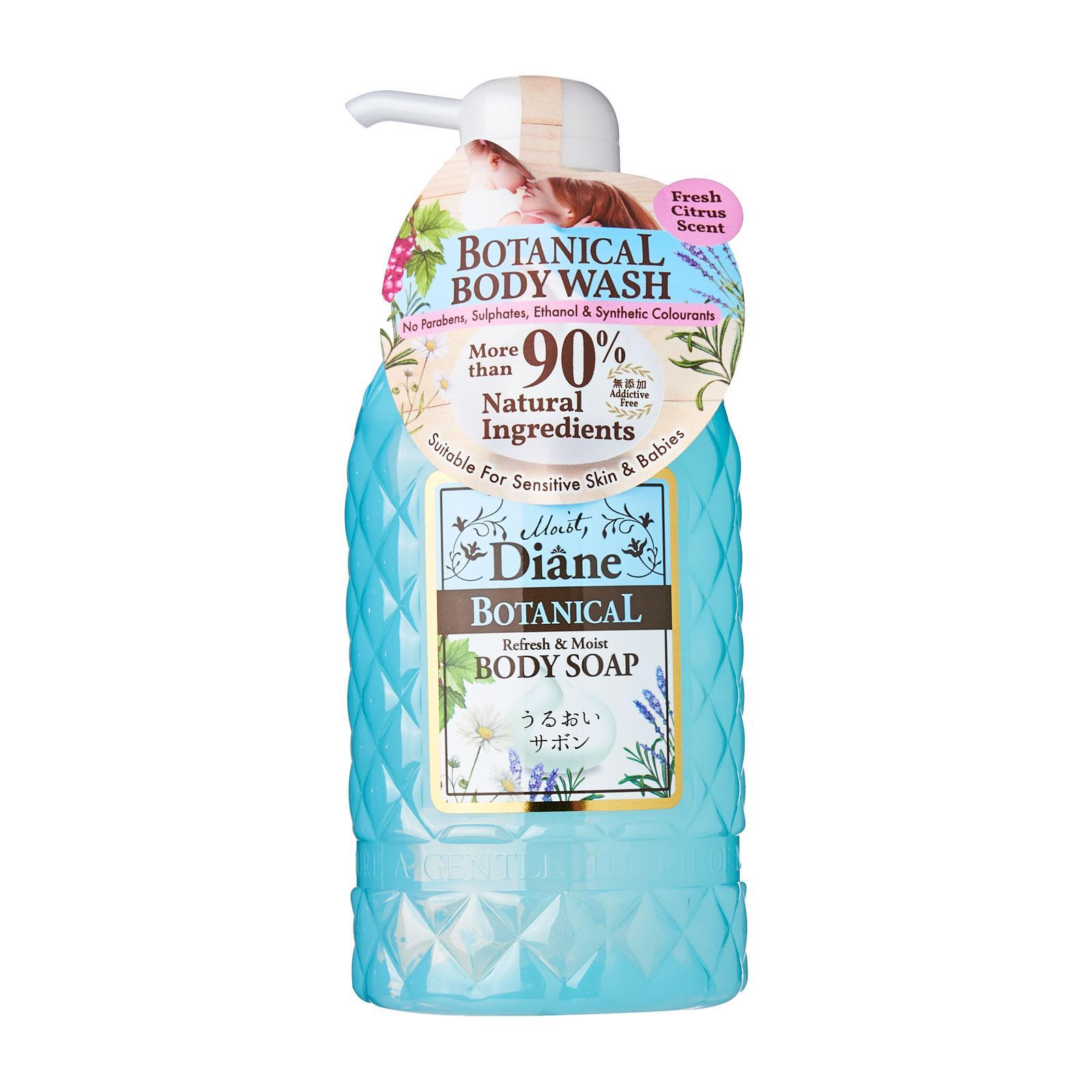 Moist Diane Botanical Refresh and Moist Body Soap