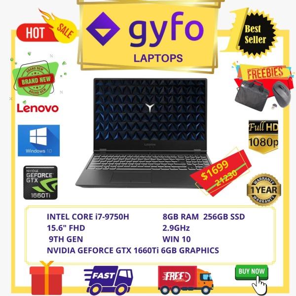 LENOVO LEGION Y540-15IRH GAMING LAPTOP / INTEL CORE i7-9750H+9TH GEN / 8GB RAM / 256GB SSD / NVIDEA GEFORCE GTX 1660Ti 6GB GRAPHICS / 15.6 FHD / 2.9GHz / 1 YR LENOVO WARRANTY