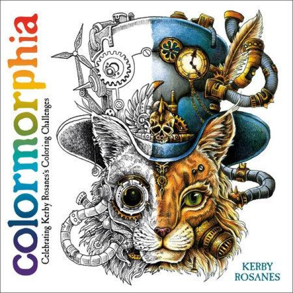 Colormorphia: Celebrating Kerby Rosaness Coloring Challenges by  Kerby Rosanes