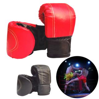 1 Đôi Găng Tay Đấm Bốc MMA Giả Da Găng Tay Đấm Bốc Tập Luyện Chiến Đấu Muay Thái Bao Cát Một Cỡ thumbnail