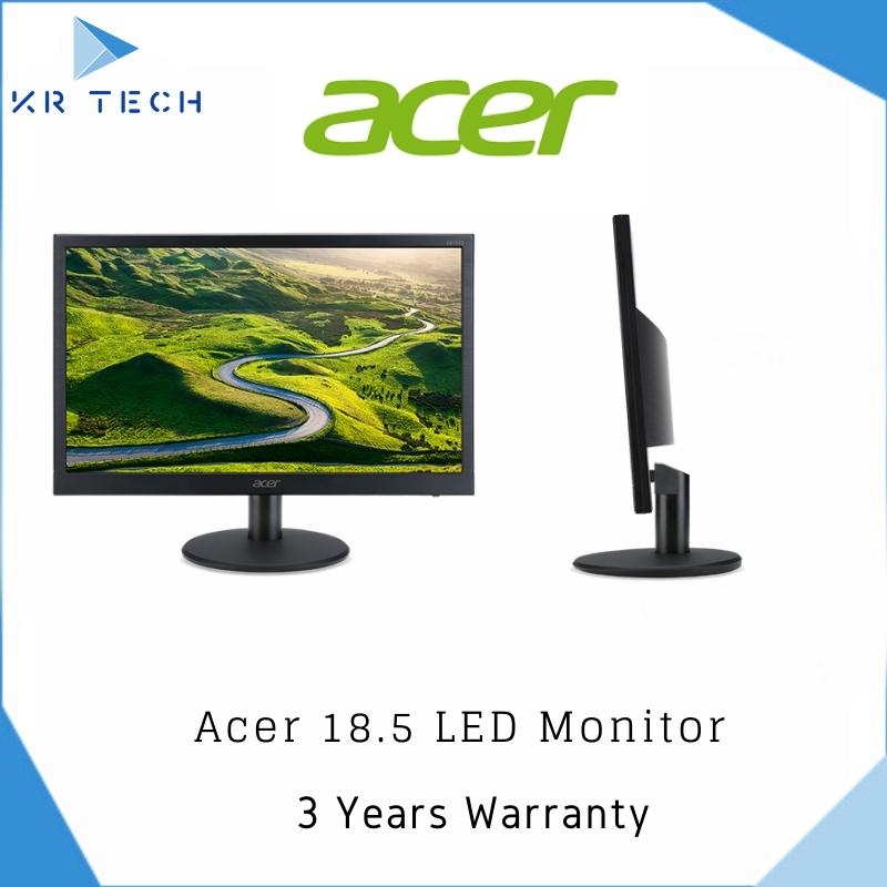 Acer EB192Q 18.5inch Black LED Monitor 3 Year Warranty! (Non HDMI Model)